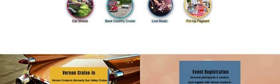 Vernon Cruise-in Wix Website