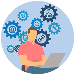 Website Repair & Maintenance Icon