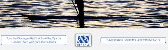 Sokal Board and Bike Rentals Website